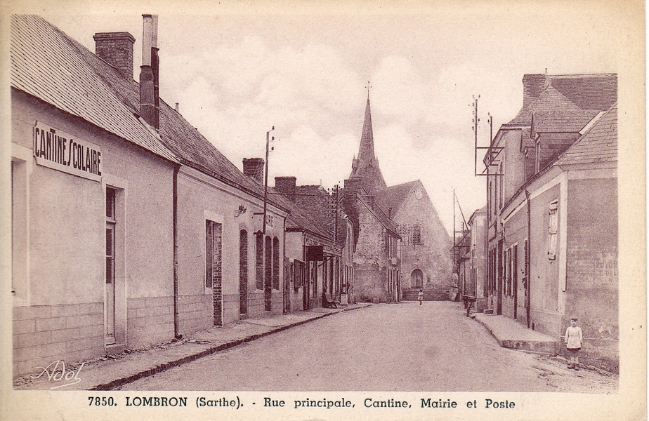 018 Rue principale, cantine, mairie et poste